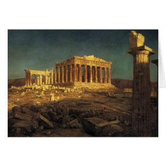 """Kyrka kort """"för Parthenon"""" hälsning"""