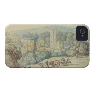 Kyrkan och byn av St.-stickrepliken, Cornwall, iPhone 4 Cover