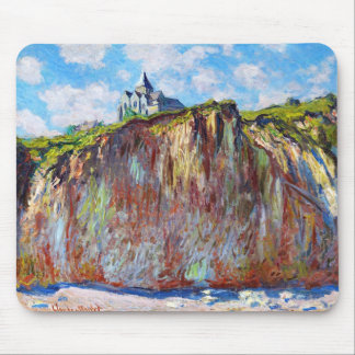 Kyrkan på Varengeville, Claude Monet coola 1882 Musmatta