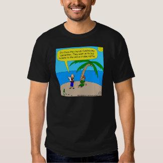 kyrklig tecknad för fundraiser 501 tröjor