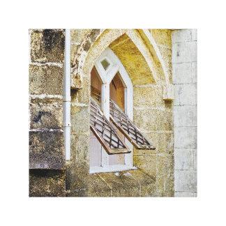 Kyrkligt fönster - kanfaskonst - Barbados Canvastryck