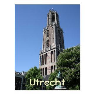 Kyrkligt torn vykort