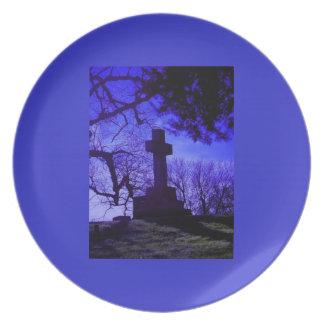 Kyrkogårdplats Tallrik