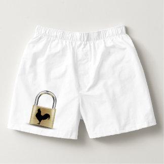 Kyskhet låser boxare boxers