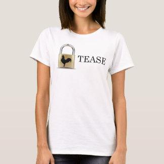 Kyskhet låser retsticka t-shirts