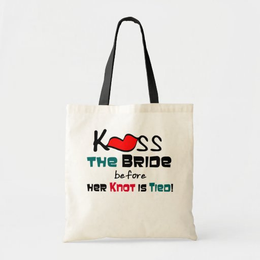 Kyssa bruden tygkasse