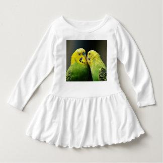 Kyssa den Budgie papegojafågeln Tee Shirt