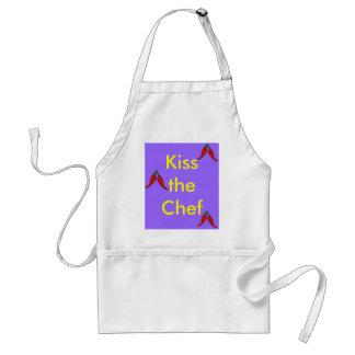 Kyssa det standarda förklädet för kocken förkläden