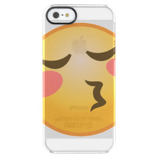 Kyssa Emoji Clear iPhone SE/5/5s Skal