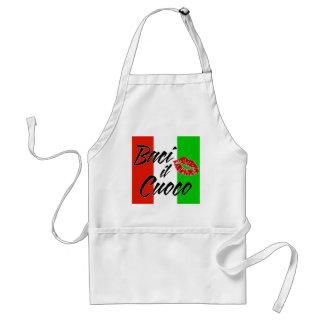 Kyssa kocken (italienare) förkläde