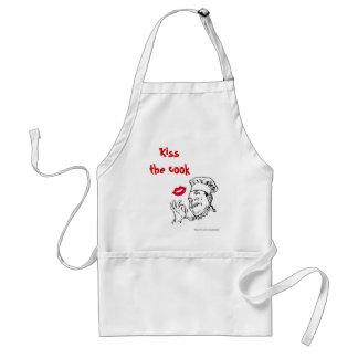 Kyssa kocken. Kockfarpappa Förkläde