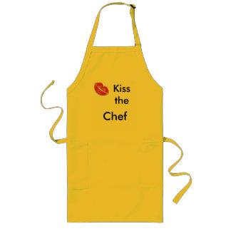 Kyssa kocken långt förkläde