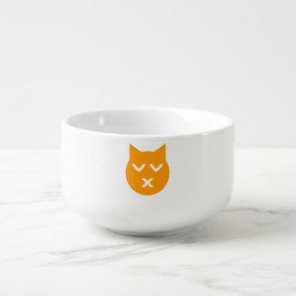 Kyssa med den stängda ögaEmoji katten Kopp För Soppa