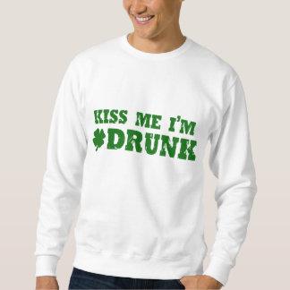 Kyssa mig den drack I-förmiddagen Lång Ärmad Tröja