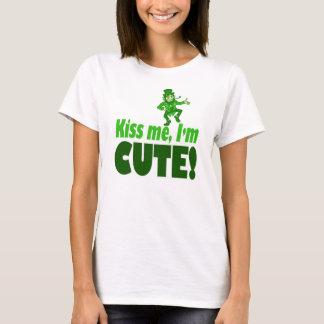 Kyssa mig den gulliga I-förmiddagen T Shirt