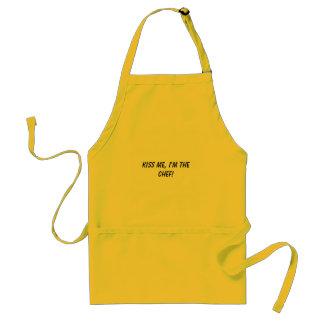 Kyssa mig, I-förmiddag kocken! Förkläde