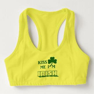 Kyssa mig I-förmiddagirländare Sport-BH