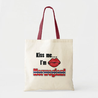 Kyssa mig I-förmiddagnorrmannen Budget Tygkasse