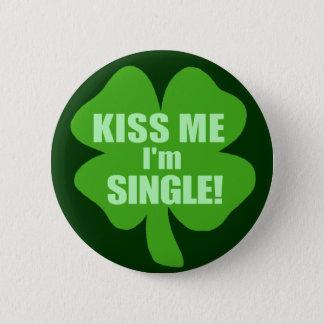 Kyssa mig I-förmiddagsingeln Standard Knapp Rund 5.7 Cm