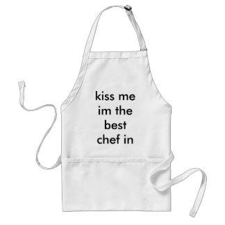 kyssa mig im den bäst kocken i världen förkläde
