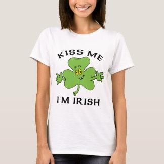 Kyssa mig T-tröja för I-förmiddagirländare T-shirt