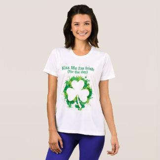 Kyssa mig T-tröja för I-förmiddagirländare T-shirts