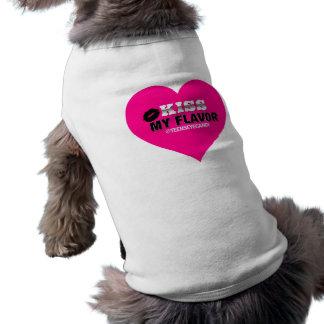 Kyssa min anstrykningVape rosor Hundtröja