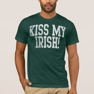 Kyssa min irländare tröja
