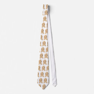 Kyssar för cockerspaniel~-valp slips