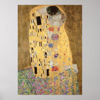Kyssen, 1907-08 poster