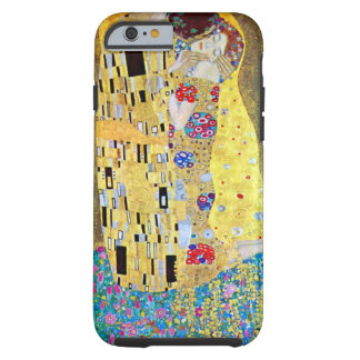 Kyssen av Gustav Klimt, vintageart nouveau Tough iPhone 6 Fodral