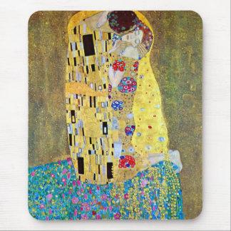 Kyssen av Gustav Klimt, vintageart nouveau Musmattor