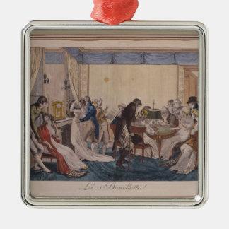 La Bouillotte, 1798 Julgransprydnad Metall