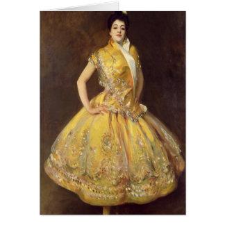 La Carmencita, 1890 Hälsningskort