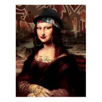 La Chola Mona Lisa Vykort