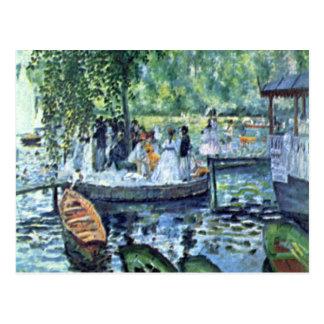 La Grenouillere1 av Pierre Renoir Vykort