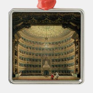 La Scala Milan, under en kapacitet Julgransprydnad Metall