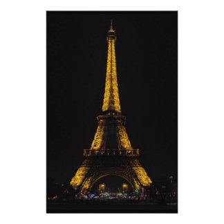 La turnerar Eiffel Brevpapper
