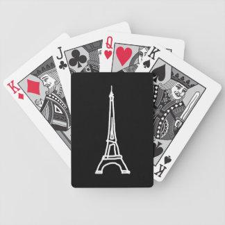 la turnerar Eiffel Spelkort