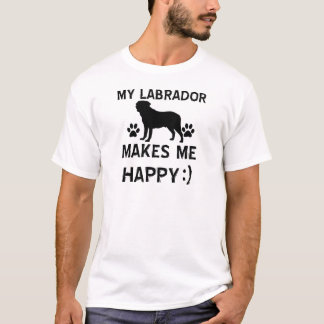 Labrador hund design t shirt