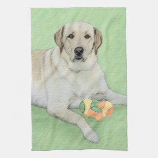 Labrador Retriever (gult) Kökshandduk