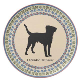 Labrador Retriever Tallrik