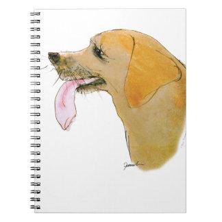 Labrador Retriever, tony fernandes Anteckningsbok