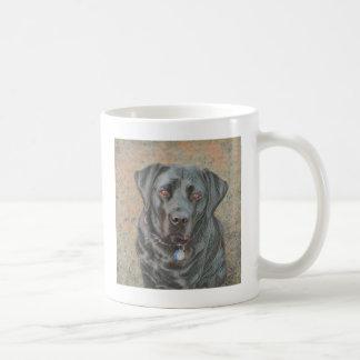 Labrador Retriever Vit Mugg