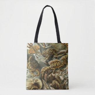 Lacertilia vid djur för Ernst Haeckel vintageödla Tygkasse