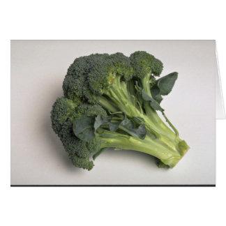 Läcker broccoli hälsningskort