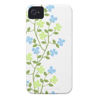 Läcker modern blom- Fodral-Kompis ID™ för iPhone 4 casemate fodral
