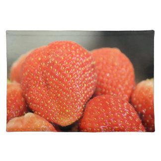 Läckra jordgubbar bordstablett