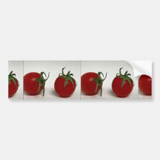 Läckra körsbärsröda tomater bildekal