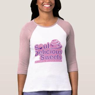 Läckra sötsakdamer för Soul 3/4 sleeve Tshirts